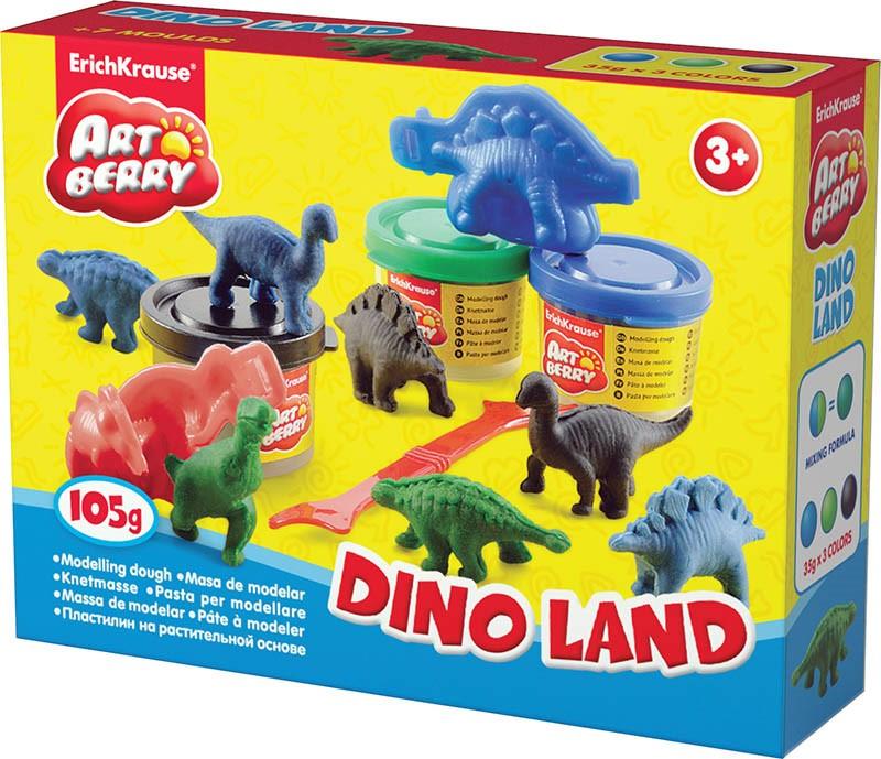 Art Berry Dinoland  gyurmakészlet