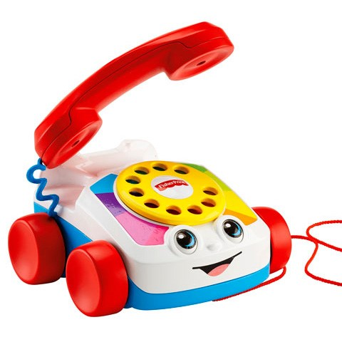 Fisher-Price: Fecsegő telefon - Mattel